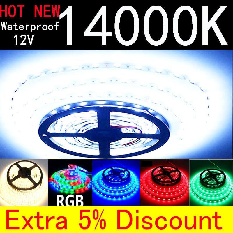 Addressable Led Strip Flexible Light Tape 12v Waterproof Warm White Red 2835 5630 5730 60 120 240 LED Strip Dream Color White