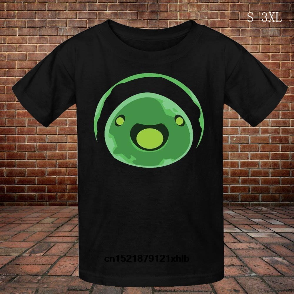 Men t <font><b>shirt</b></font> <font><b>Slime</b></font> <font><b>Rancher</b></font> Icon Rad <font><b>Slime</b></font> Round Collar Male Fashion Cool Top t-<font><b>shirt</b></font> women image
