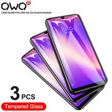 3Pcs Full Cover Screen Protector For Xiaomi Redmi Note 8 Pro Tempered Glass For Redmi Note 9S 8T 7 6 5 10X Pro 4G 5G Glass Film