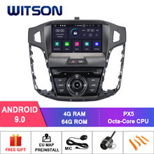 DE LAGER WITSON Android 9.0 Octa core PX5 AUTO DVD player für FOKUS 2012 4 GB RAM 64 GB ROM IPS GPS RADIO Multimedia Player(China)