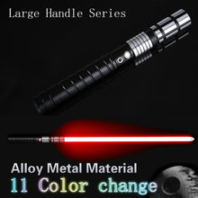 New lightsaber jedi sword led sabre force fx heavy dueling refillable high sound with birth metal foc(China)