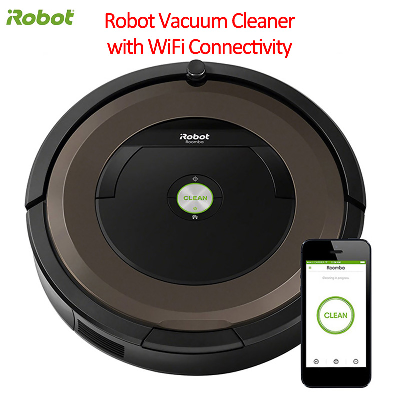 IRobot Roomba 894 Robot Vacuum Cleaning With WiFi/APP Connectivity 5x Deeper Cleaning Power Intelligent Cleaner Robot