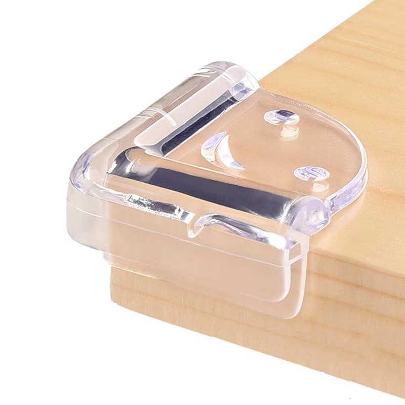 4 pçs criança segurança do bebê protetor de móveis de silicone mesa borda canto guarda proteção capa criança segurança cantos guardas