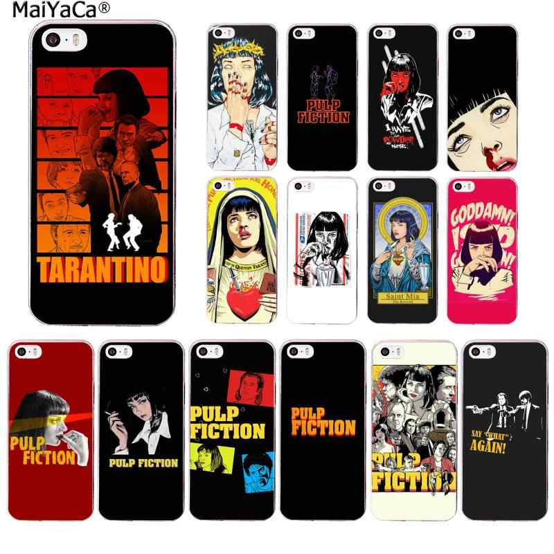 MaiYaCa PULP FICTION MOVIE POSTER Ongelooflijke TPU Soft Phone Case Cover voor iPhone 11 pro XS MAX 8 7 6 6S Plus X 5 5S SE XR
