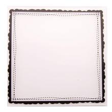 Пластиковая папка для тиснения квадратные точки рамка рукоделия