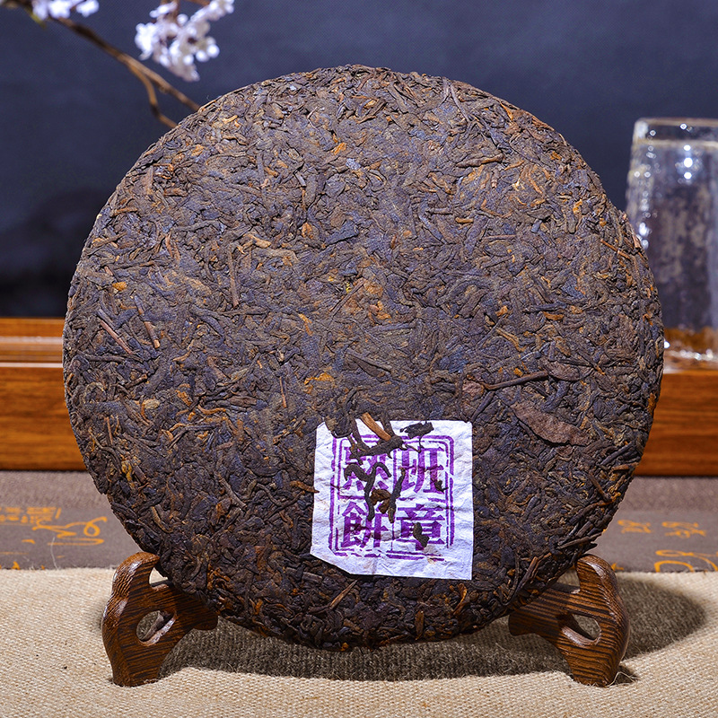 357g China Yunnan Oldest Ripe Pu'er Tea Down Three High Clear fire Detoxification Beauty Lost Weight Green Food 2