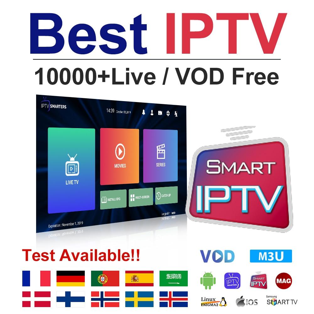 IPTV France Germany Dutch Italia IPTV Subscription 1 Year Spain Portugal IPTV M3u Android Arabic Sweden Norway Albania IP TV