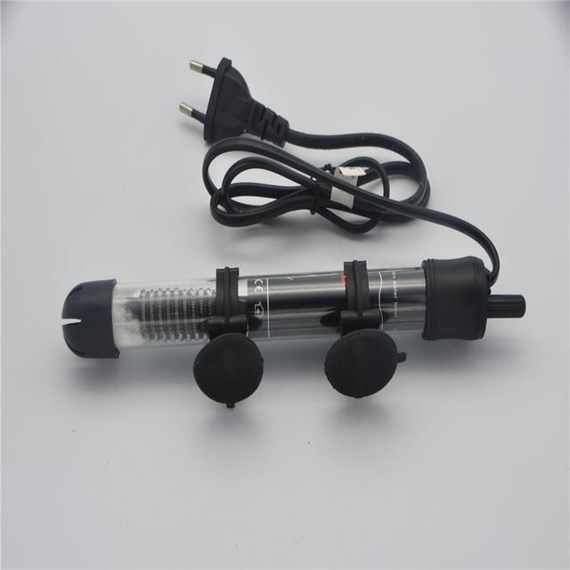 Température réglable Thermostat chauffage tige Submersible Aquarium réservoir de poissons eau chaleur US/ue Plug 25W/50W/100W/200W/300W