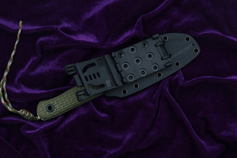 Lovocoo faca lâmina fixa niolox lâmina g10