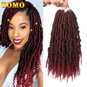 TOMO Bomb Twist Crochet Hair M