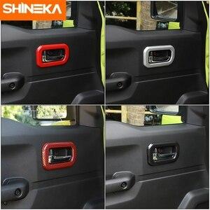 Image 2 - SHINEKA molduras interiores para Suzuki Jimny JB74, manija de puerta Interior de coche, accesorios de decoración para Suzuki Jimny 2019 +