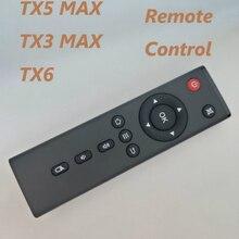 Tanix tx6 controle remoto para android caixa de tv tx5 tx3 max mini max mouse ar tx6 substituição controle remoto