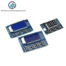 Módulo ajustável do módulo do dever da frequência do pulso do gerador pwm do sinal display lcd 1hz-150khz 3.3v-30v módulo da placa pwm