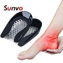 Silikon Gel Ferse Pad für Dämpfung Plantarfasziitis Schmerzen Relief Fußpflege Einfügen Einlegesohle Höhe Erhöhen Tasse Kissen Pad