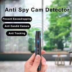 Detector antideslizante bolígrafo RF señal inalámbrica espia micrófono cámara oculta buscador de escucha Audio Gsm Gps rastreador de insectos escáner
