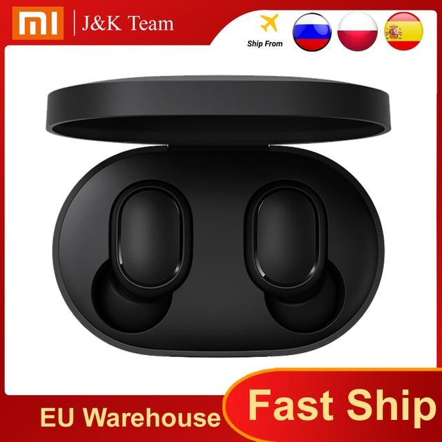 Original Xiaomi Redmi Airdots s TWS Xiaomi Wireless earphone Voice control Bluetooth 5.0 Noise reduction Tap Control