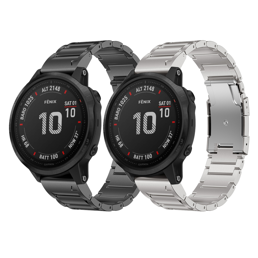 Titanium Alloy Watch Band For Garmin Fenix 6/6 Pro Replacement Watch Strap Bracelet For Garmin Fenix 6 Pro Band Wrist Pulseira