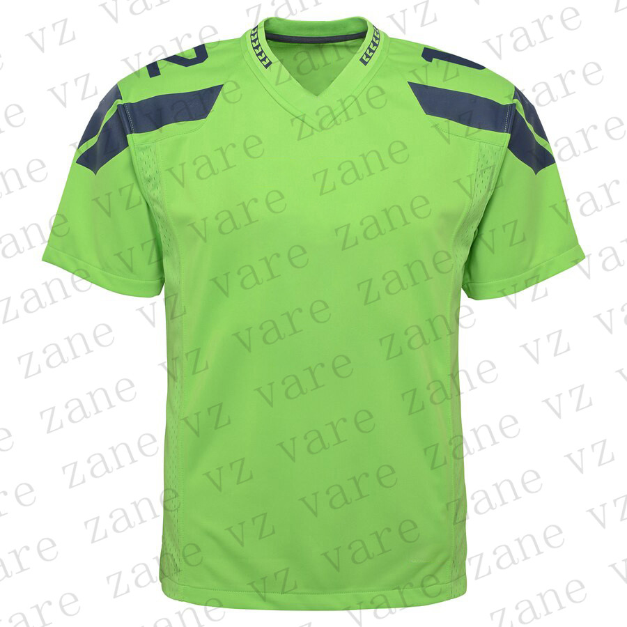 Customize Boys Girls Sports Fans American Football Jerseys 12s 12th 12 Fan Russell Bobby Wagner Tyler Lockett Jadeveon Clowney DK Metcalf Shaquem Griffin Cheap Seattle Jersey