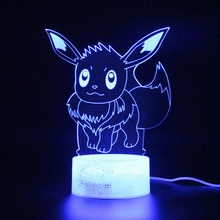 Touch Remote Control 3D Table Lamp Kids Sleep Light Party Decoration Nightlights Projection PKM Lamp Illusion цена и фото