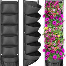 Flowerpot-Bag Planter Hanging Wall-Mount Vertical Outdoor-Use Waterproof New-Design Indoor