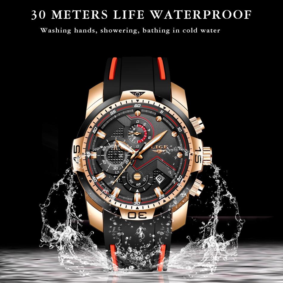 Hc97300c08d404d0b810c0a8983b2ec379 2020 LIGE New Mens Watches Top Luxury Brand Men Unique Sport Watch Men Quartz Date Clock Waterproof Wristwatch Relogio Masculino