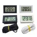 1 шт. 5 м практичный Лидер продаж Мини термометр бытовой измеритель температуры цифровой ЖК-дисплей Бесплатная доставка
