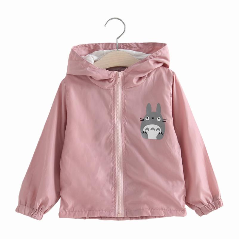 1-5T Toddler Cute Cartoon Jacket for Boys Girls Autumn Hooded Coat-39 Styles