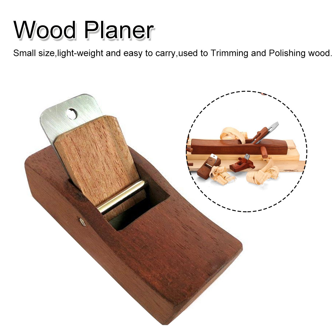 Mini Planer Carpenter Hand Wood Planing Manual Trimming DIY Tool Woodworking Craft For Home Garden Carpenter Tool