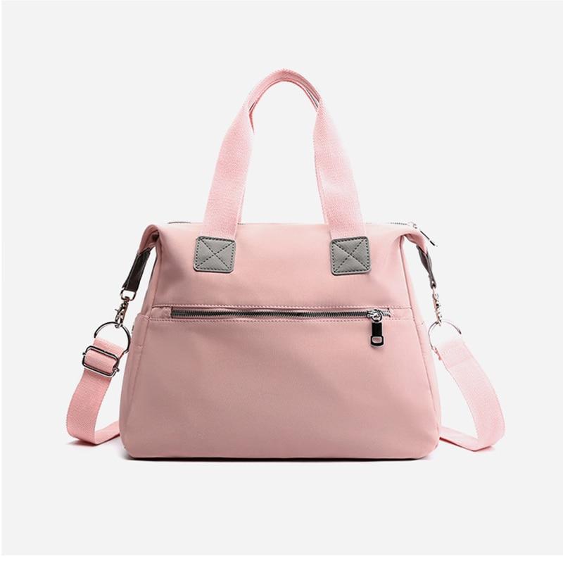Nylon Mummy Maternity Baby Nappy Stroller Bag Large Capacity Diaper Travel Backpack Nursing Bag Baby Care Women's Fashion Bag