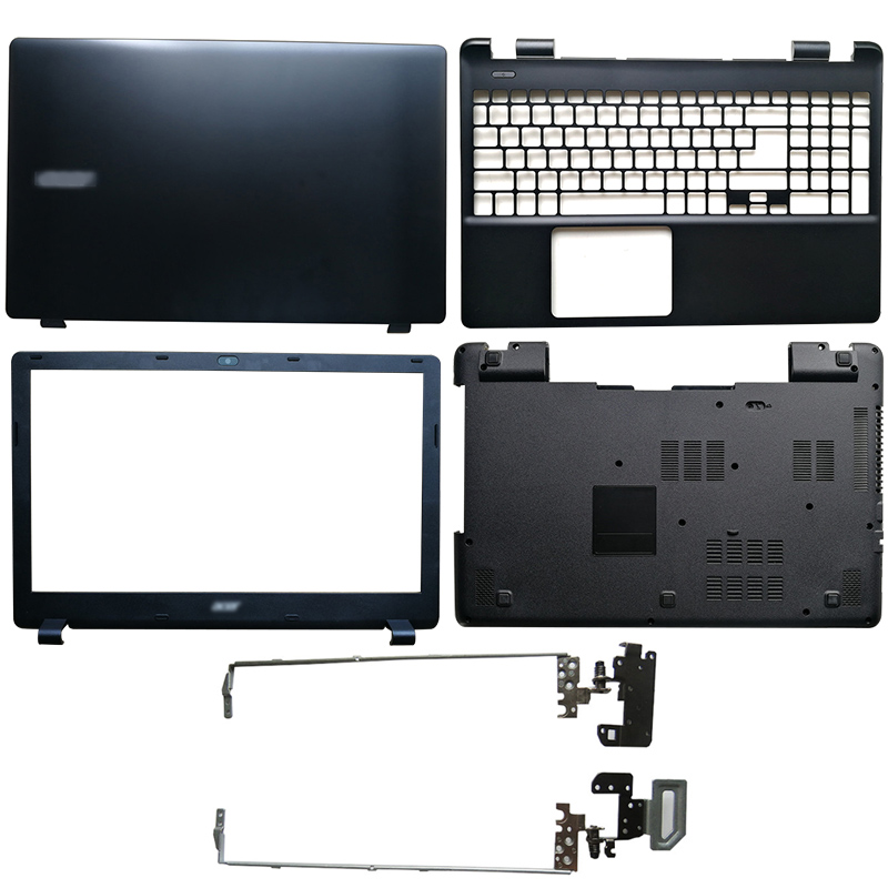 NEW LCD Back Cover/Front Bezel/Hinges/Palmrest/Bottom Case For Acer E5-571 E5-551 E5-521 E5-511 E5-511G E5-511P E5-551G E5-571G