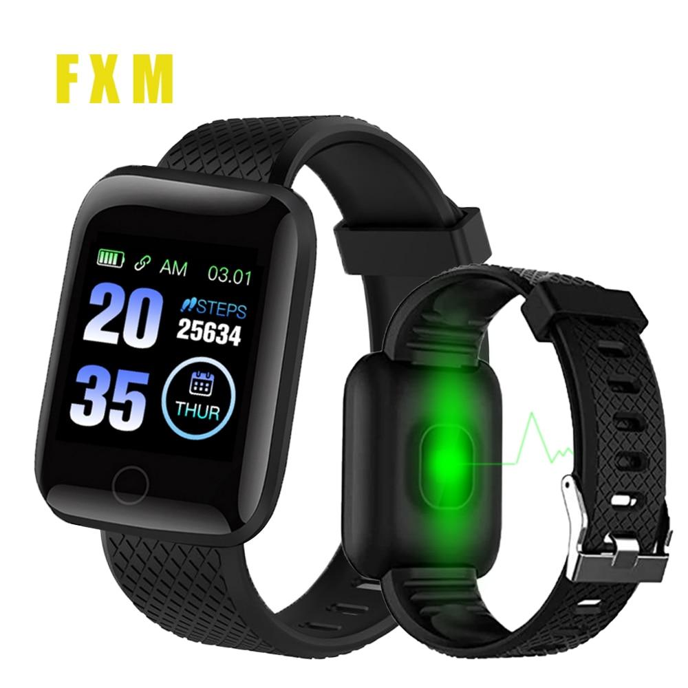 Smart Watches Smart Wristband Heart Rate Watch Men Women Sports Watches Smart Band Sport 116plus Smartwatch Convenient Pedometer