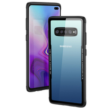 Transparent Armor Shockproof Case For Samsung Galaxy S10 Plus A30 A50 A70 Note 9 S9 S8 S7 Edge J5 J7 A6 A8 2018 Silicone Case shockproof armor case for samsung galaxy note 10 pro s10 5g s10 plus a30 a50 a60 a70 leather silicone case s9 s8 note 9 cases