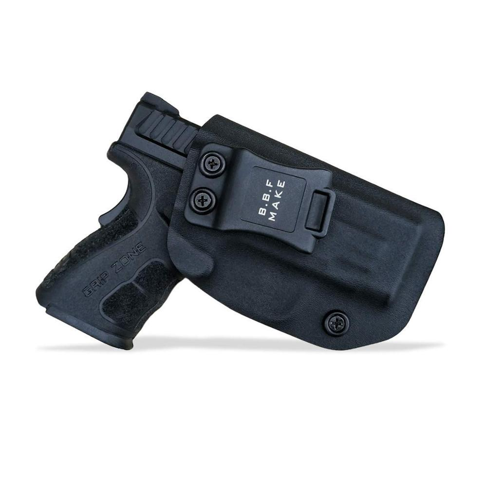 B.B.F Make IWB KYDEX Holster Fits: SpringField XD-9 Single Stack Gun Holsters Inside Concealed Carry Case Pistol Bags