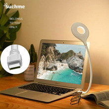 Suchme lampa USB lampa stołowa lampa LED z USB blat latarnie Flexo PC lampy studium czytanie lampa USB KL-X7008