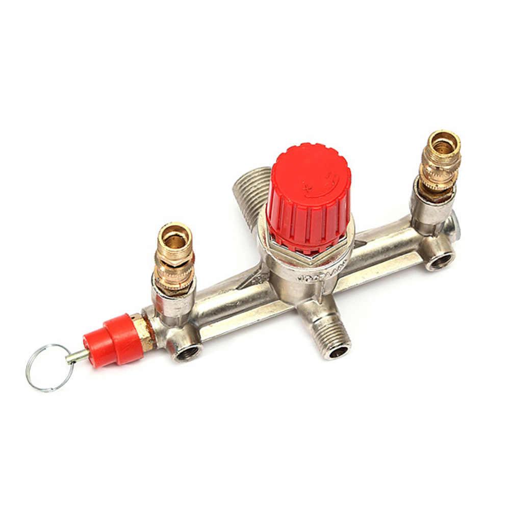 Air Pressure Compressor Switch Bracket Regulator Valves Pump Part Replacement