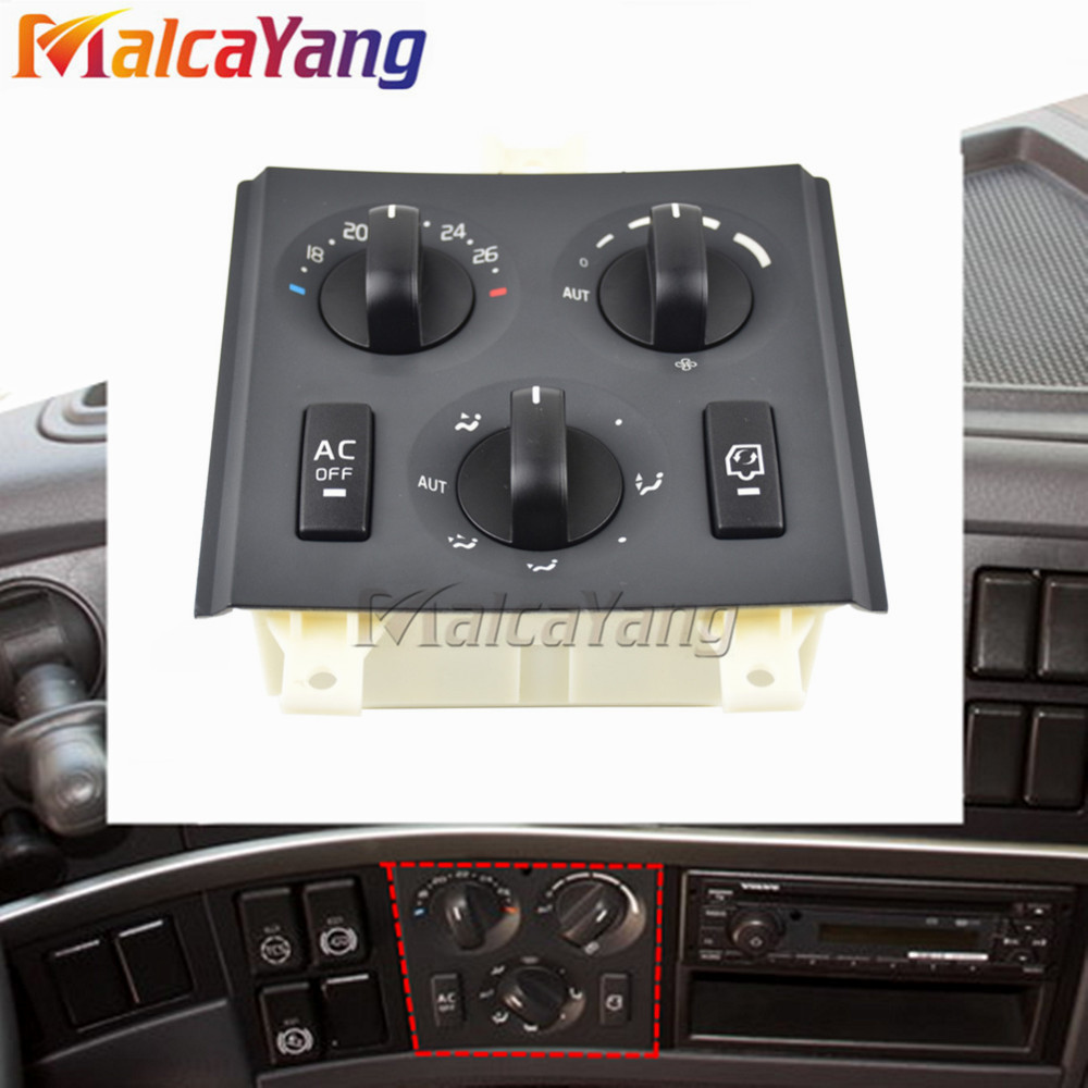 20508582 Switch Panel For Volvo Truck FM FH Combined Switches 85115380 20853478 21272395 21318123