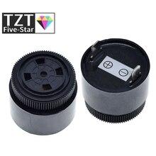 QSI-3610 80dB активный пьезоэлектрический зуммер 12V 24V водонепроницаемый зуммер 36x32 мм