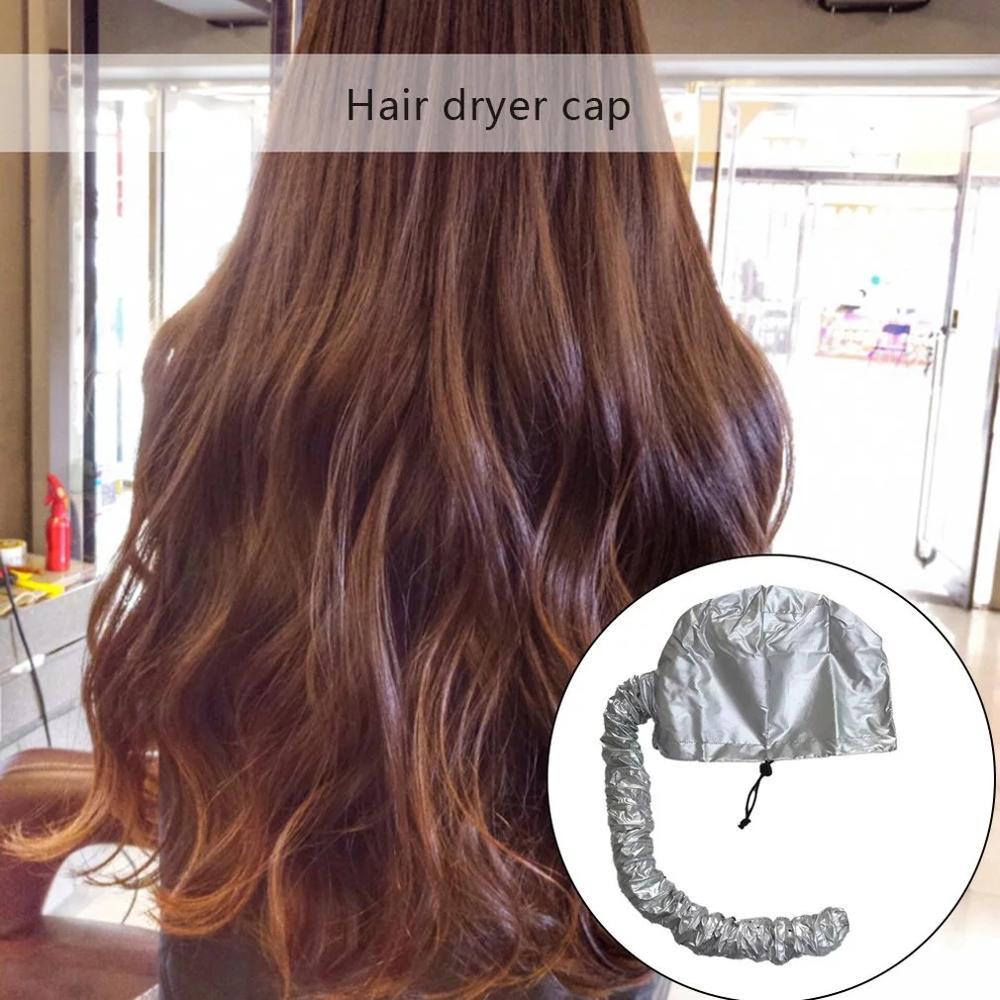 Купить с кэшбэком 2020 Easy Use Hair Perm Hair Dryer Nursing Dye Hair Modelling Warm Air Drying Treatment Cap Home Safer Than Electric Cap