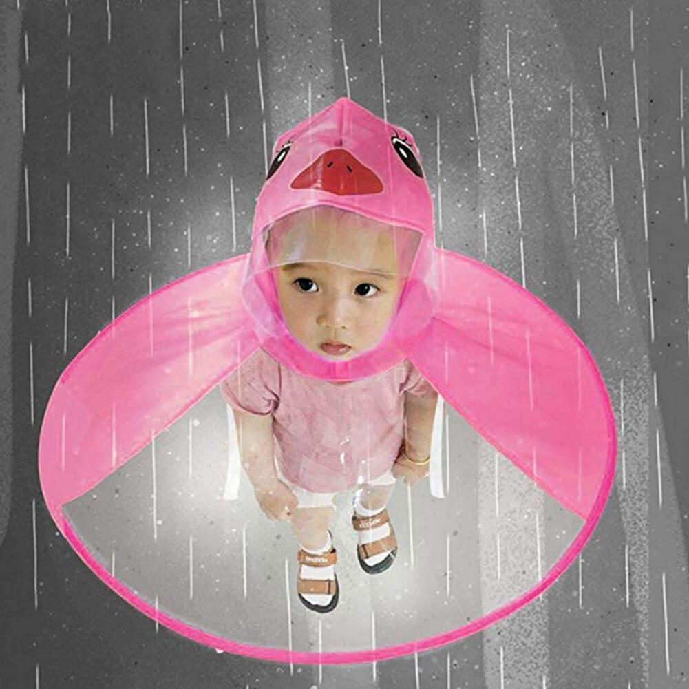 Childrens Raincoat Transparent Raincoats Free Rain Poncho Baby Funny Duck Rain Coat Rain Cover Raincoat for Kids