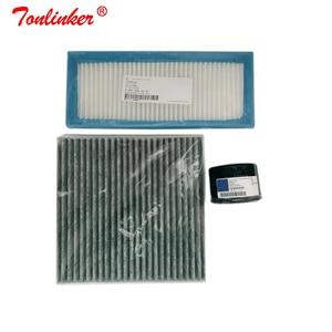 Image 2 - Hava filtresi + kabin filtresi + yağ filtresi için 3 adet akıllı Fortwo 451 Cabrio Coupe 0.8CDI 1.0T 2007 2019 Model filtre seti araba aksesuarları