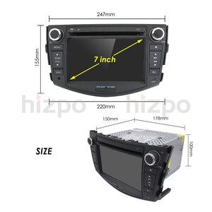 Image 5 - Android 10 car dvd player for Toyota RAV4 Rav 4 2007 2008 2009 2010 2011 2 din 1024*600 gps navigation wifi Quad core