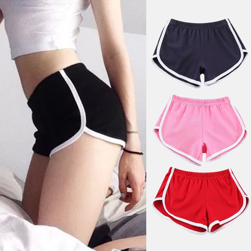 Fashionable Female Sports Shorts Sexy Home Beach Pants Fitness Running Gym Club Clothes Casual Tights 12 Colors