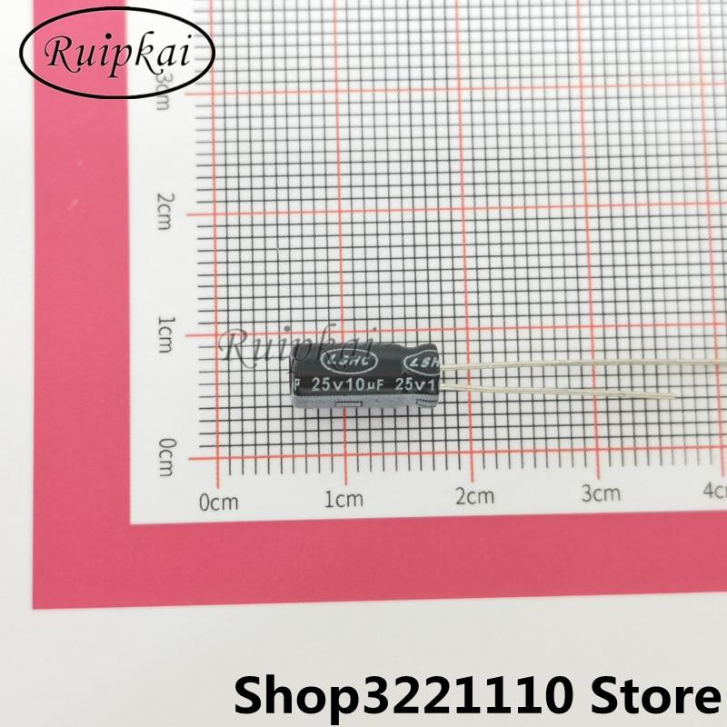 100 шт. 10 мкФ 25 в 5Х11 мм алюминиевый электролитический конденсатор 25 в 10 мкФ 5*11 мм CLseries 105 продолжительность жизни при температуре 2000 ч