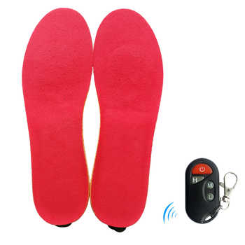 2300mAh Heated Insoles Shoe Boot Foot Warmer with Remote Control Size EUR 35-46# Velvet Fabric Thermal Heating Insole for Spring - DISCOUNT ITEM  40% OFF Sports & Entertainment