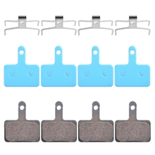 4 Pairs Bicycle Ceramic disc Brake Pads For Shimano B01S MT200 M400 MT500 M315 ~ M525 Acera Alivio Deore / Orion Auriga Pro