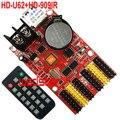 HD-U62 + HD-909IR ИК-пульт дистанционного управления светодиодный контроллер 2 * HUB08 4 * HUB12 768*64 USB светодиодный карта управления один и двойной цвет P10...