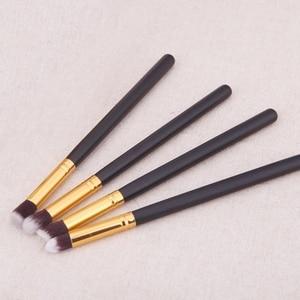 4pcs Professional Eyeshadow Makeup Brushes Kit Soft Cosmetic Eyeshadow Eye Liner Eyebrow Cosmetic Make up Brush Set Maquiagem