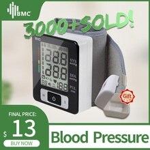 BMC цифровой измеритель артериального давления, Автоматический Сфигмоманометр, умный медицинский прибор, измерение пульса, фитнес-измерение