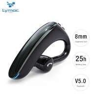 LYMOC Graphene 5,0 Bluetooth Kopfhörer Drahtlose kopfhörer Nosice Cancelling HD MIC Freisprecheinrichtung Business Fahrer für iPhone Xiaomi