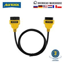 Connector-Cord Extension-Cable Obd2 16pin AUTOOL ELM327 Car-Obd-Connect Obd-Ii Wire